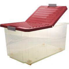 Ящик для хранения BranQ Unibox, цвет: бордо