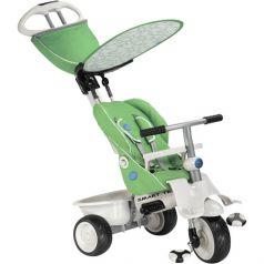 Детский трехколесный велосипед с ручкой Smart Trike Stoller, цвет: зеленый