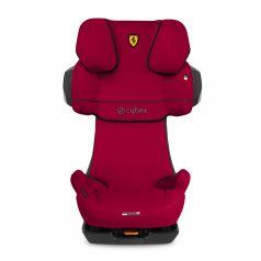 Автокресло Cybex Pallas 2-Fix FE Ferrari, цвет: racing red