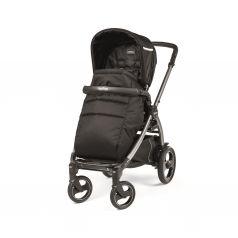 Прогулочная коляска Peg-Perego Book Plus Pop Up с шасси Book 51 Titania W/B, цвет: class black