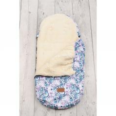 Amarobaby Конверт в коляску Вензеля 105 х 45 см, цвет: белый/голубой