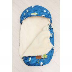 Amarobaby Конверт в коляску Кот И Мышки 80 х 45 см, цвет: синий