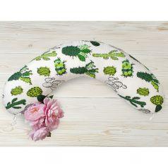 Подушка для беременных Amarobaby Кактусы 170 х 25 см, цвет: мультиколор