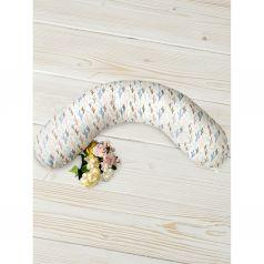 Подушка для беременных Amarobaby 170 х 25 см, цвет: мультиколор