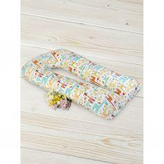 Подушка для беременных Amarobaby Жирафики 340 х 35 см, цвет: мультиколор