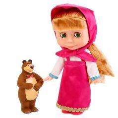 Кукла Карапуз Маша и Медведь Маша 25 см