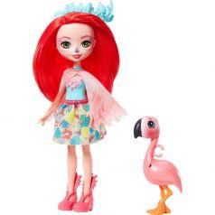 Кукла Enchantimals Фэнси Флэминг и Свош