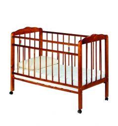 Кровать-качалка ИП Смирнов Женечка-1, цвет: вишня