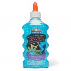 Клей для слаймов Elmers с голубыми блестками