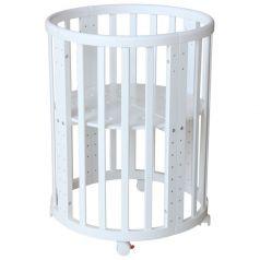 Кроватка Polini Simple 911, цвет: белый