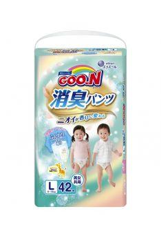 Подгузники-трусики Goon Aromagic L (9-14 кг) 40 шт.