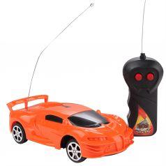 Машина на радиоуправлении Игруша оранжевая 1 : 24