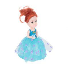 Кукла Игруша в стакане мороженного, бирюзовая