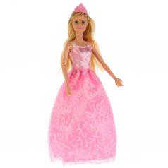 """Карапуз, Карапуз, Кукла """"София Принцесса"""" в розовом платье, 29см"""