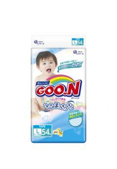 Подгузники Goon L (9-14 кг) 54 шт.