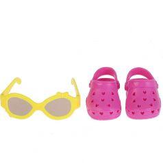 Аксессуары для кукол Карапуз 2 пары обуви 20x14x5