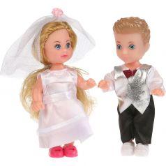 Набор из 2-х кукол Карапуз «Машенька» и «Сашенька» 23x6x19