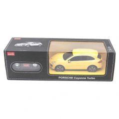 Машина на радиоуправлении Rastar Porsche Cayenne Turbo, желтая 1 : 24