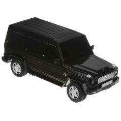 Машина на радиоуправлении Rastar Мерседес G55, черная 19 см 1 : 24
