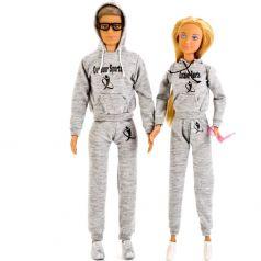 Набор из 2-х кукол Defa Lucy Мальчик и Девочка 20x33x6