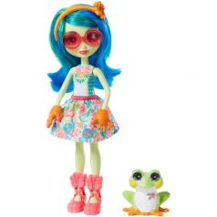 Кукла с лесным питомцем Enchantimals Tamika Tree Frog