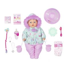 Интерактивная кукла Baby Born «Зимняя» 43 см