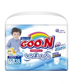 Подгузники-трусики Goon SPB для мальчиков (13-25 кг) 28 шт.