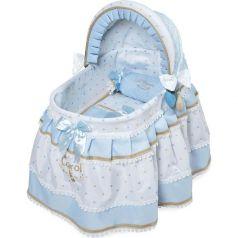 Кроватка для куклы Кэрол с козырьком DeCuevas