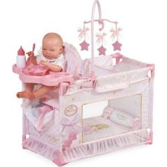 Манеж-игровой центр для куклы Мария с аксессуарами DeCuevas