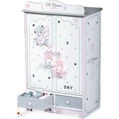 Гардеробный шкаф для куклы Скай с аксессуарами DeCuevas