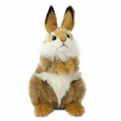Мягкая игрушка Hansa Коричневый кролик 24 см