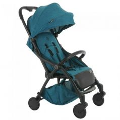 Прогулочная коляска Pituso Smart, цвет: бирюзовый лен