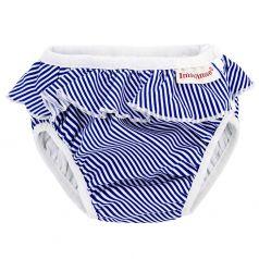 Плавки ImseVimse детские White/Blue Stripes Frill (11-14 кг) шт.