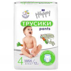 Подгузники-трусики Bella Baby Happy Pants (8-14 кг) 12 шт.
