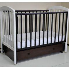 Кроватка Malika Sona-3, цвет: венге/белый