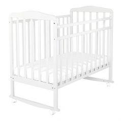 Кроватка СКВ Митенька, цвет: белый