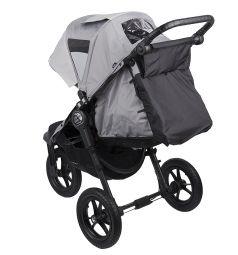 Прогулочная коляска Baby Jogger City Elite Single, цвет: серый