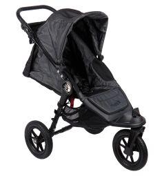 Прогулочная коляска Baby Jogger City Elite Single, цвет: угольный джинс