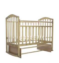 Кровать-качалка Антел Алита 3, цвет: слоновая кость