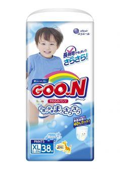 Подгузники-трусики Goon Big для мальчиков (12-20 кг) 38 шт.
