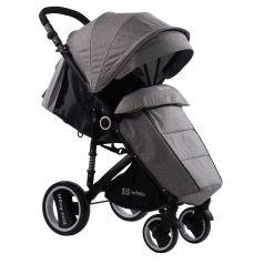 Прогулочная коляска Farfello Bino Angel, цвет: серый