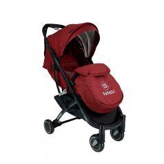 Прогулочная коляска Farfello QE9, цвет: красный