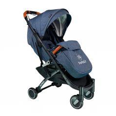 Прогулочная коляска Farfello QE9, цвет: темно-синий