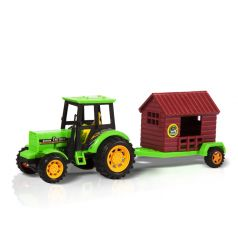 Игрушка Handers Трактор с прицепом. Перевозчик дома 27 см
