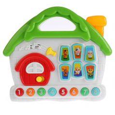 Музыкальная игрушка Умка Обучающий домик, 27 х 23 см