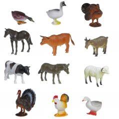 Набор животных Bondibon Ребятам о зверятах. Домашние животные и птицы 10 см