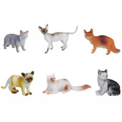 Набор животных Bondibon Ребятам о зверятах. Кошки 8 см