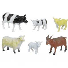 Набор животных Bondibon Ребятам о зверятах. Домашние животные с детенышами