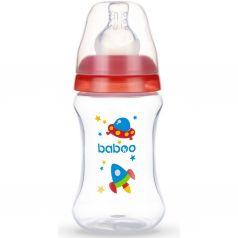 Бутылочка Baboo с узкой силиконовой соской Space полипропилен, 150 мл