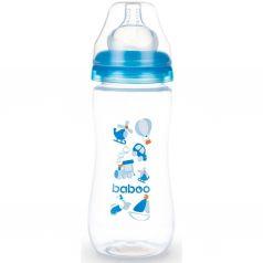 Бутылочка Baboo с широкой силиконовой соской Transport полипропилен, 330 мл